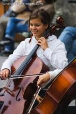 Behind The Cello