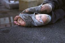 That Shoeless Man