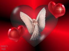 An Angel, far in sight, close at heart