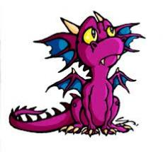 my pink dragon-who breathes chocolates n candy floss
