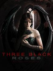 Three Black Roses