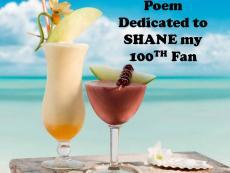 Poem dedicated to SOSNH(SHANE)100TH FAN