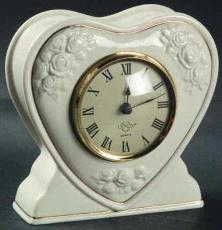 Heart-Shaped Clock