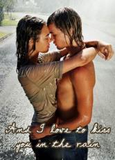 summer rain kissing