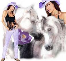 A Cow Girl