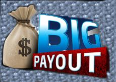 Big payouts playing the Dark Knight slot game