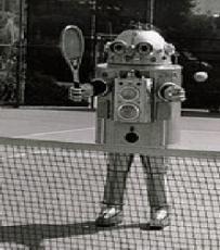 A Robot at Wimbledon