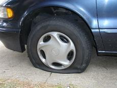 Sharp Nails and Flat Tires