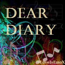 Dear diary (actual diary)