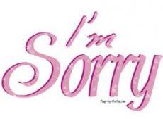 Friend! I am sorry.
