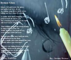 Broken Glass by JB