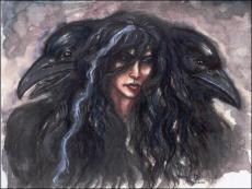 The Queen of the Ravens (Poem)