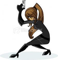Spy Girl or Naughty Girl
