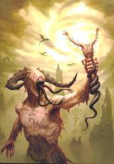For Satan's reigns a myth...