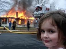 I Was Like 'Whoa!' It's on Fire!