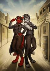 Wanted Dead or Alive- An Anthro Western
