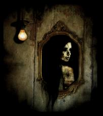 A ghost in the mirror short horror story