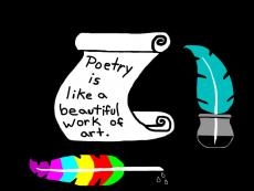 Poetry Is Like A Beautiful Work Of Art