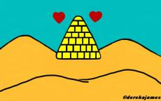 The Pyramid That Forever Guards Our Love
