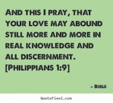 Everyone Need Some (DISCERNMENT)