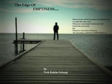 The Edge Of Emptiness