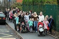The mum brigade
