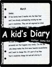 A Kids Diary