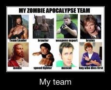 Zombie Apocalypse- Weird love story