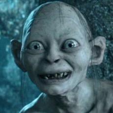 Gollum's Plunge (His Final Thoughts)