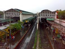 A Morning at the Barrackpore Station