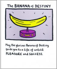 the banana of destiny