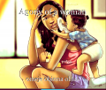 Agony of a woman