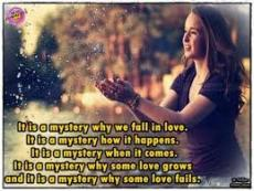 What Makes Love A Great Mystery?
