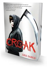 Rogue, last book in the Croak trilogy by Gina Damico
