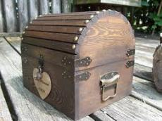 Locked Wooden Box