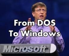 The 'Life Cycles' Of Bill Gates - From DOS To Windows