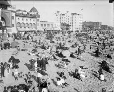 SANTA MONICA BEACH 1905.