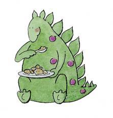 The Dino In the Fridge