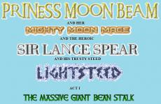 Princess Moon Beam and her Mighty Moon Mace and the Heroic Sir Lance Spear and his Trusty Steed Lightsteed