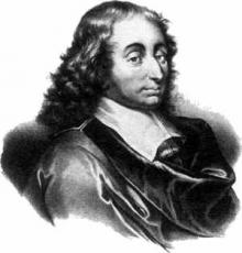 Blaise Pascal and his Pensees