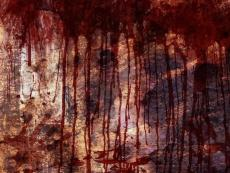 The blood on the Walls