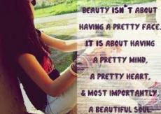 Beauty is not how you look