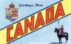 Greetings from Canada