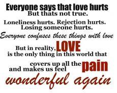 pyaar me dard nahi hota hai : LOVE DOESN'T HURT
