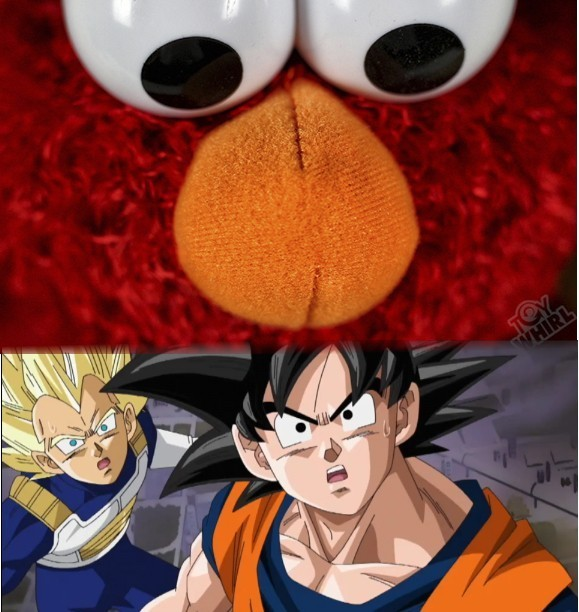 Vegeta And Goku In Elmo S World Short Story By Songmorning