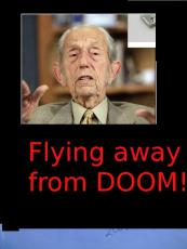 Flying Away from Doom:  (The secret life of Minister Harold )