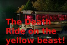 THE DEATH RIDE ON A YELLOW BEAST: