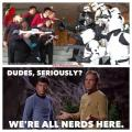 Can't We All Just Get Along? - The Star Wars vs. Star Trek Debate.
