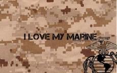 I will always love my Marine