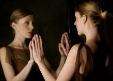 I gazed at the mirror